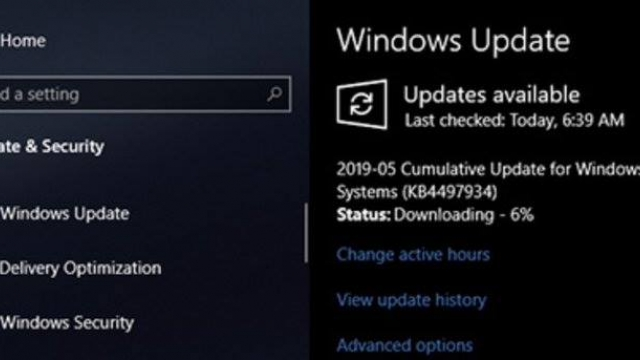 Windows 10 May 2019 Update Released #fb http://bit.ly/2VQXi5P